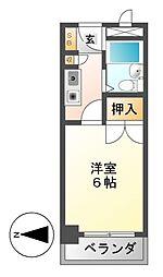 CASA NOAH名古屋1[3階]の間取り