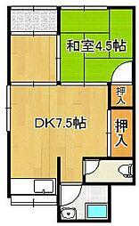 鹿児島本線 西小倉駅 バス5分 金田2丁目下車 徒歩3分
