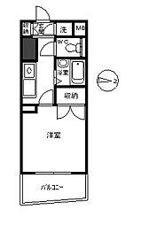 イーストピークV[6階]の間取り