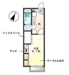 浄水[1階]の間取り