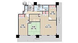 ジオ北堀江[20階]の間取り