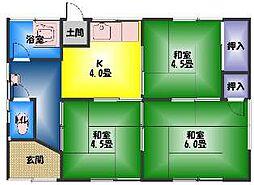 [一戸建] 静岡県三島市安久 の賃貸【/】の間取り