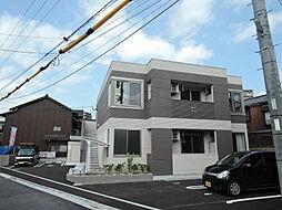 福岡県北九州市小倉北区下到津3丁目の賃貸アパートの外観
