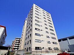 千葉県松戸市二ツ木の賃貸マンションの外観