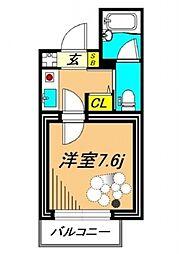サウンドフォルム多摩川 bt[402kk号室]の間取り