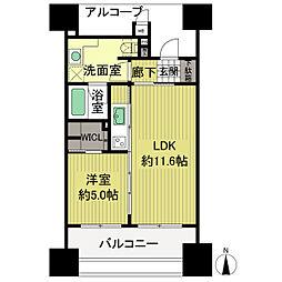 BELISTA北梅田[10階]の間取り