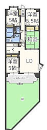 コアマンション小笹II[1階]の間取り