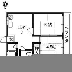京都地下鉄東西線 御陵駅 徒歩17分
