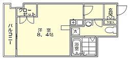 メモリアル博多[10階]の間取り