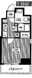 アゼスト亀戸[12階]の間取り