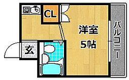 PALHouseK[2階]の間取り