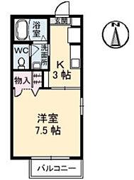 シャーメゾン・ソレイユ[1階]の間取り