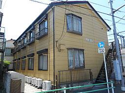 東京都葛飾区東新小岩7の賃貸アパートの外観