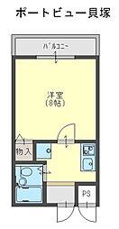 Rinon 脇浜[505号室]の間取り