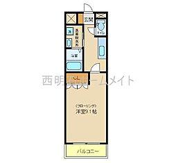 エイトピア八木[2階]の間取り