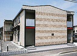 香川県坂出市久米町1丁目の賃貸アパートの外観