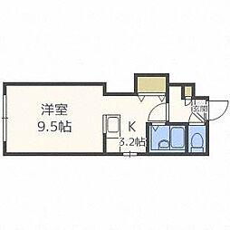 LEGANNEX N11[4階]の間取り