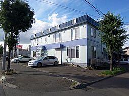 北海道札幌市白石区北郷三条8丁目の賃貸アパートの外観