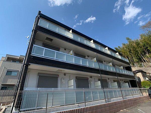 神奈川県横浜市港北区大倉山6の賃貸マンションの外観