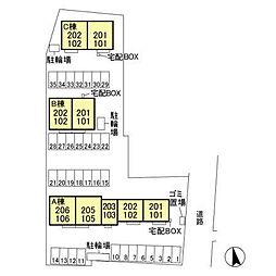 (仮)D-room平井町 A[2階]の外観