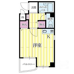 リーフマンション[3階]の間取り