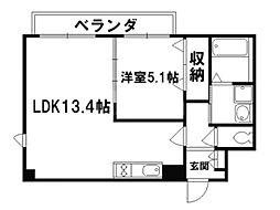 ダイヤ・パール[4階]の間取り