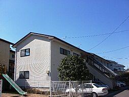 福島県福島市南矢野目字越前の賃貸アパートの外観