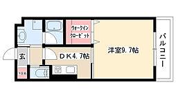 愛知県名古屋市南区要町3の賃貸マンションの間取り