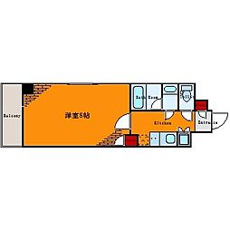 ルーブル亀戸[2階]の間取り
