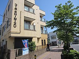 埼玉県新座市栗原5丁目の賃貸アパートの外観