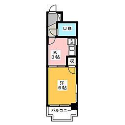 第12共立ビル[4階]の間取り