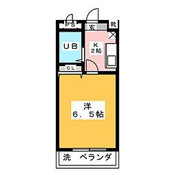 メゾンドハイム[3階]の間取り