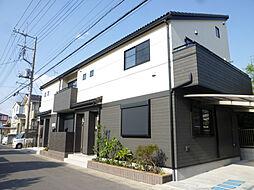埼玉県越谷市蒲生旭町の賃貸アパートの外観
