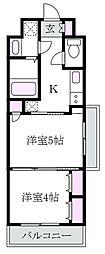 日神デュオステージ高円寺[2階]の間取り