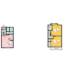 Confor[2階]の間取り