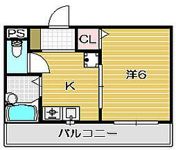 マ・メゾン[307号室]の間取り