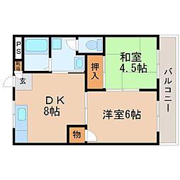 エミナンス・オーク[3階]の間取り