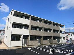 愛知県岡崎市伊賀町字2丁目の賃貸アパートの外観
