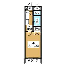 文学館[3階]の間取り