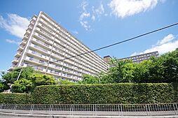大阪府枚方市西牧野4丁目の賃貸マンションの外観
