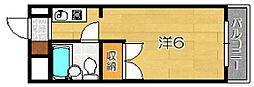 第46長栄MKフレグランス桂[1階]の間取り
