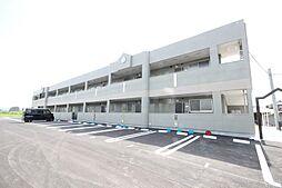 福岡県行橋市大字下検地の賃貸アパートの外観