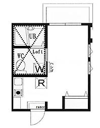 二俣川2丁目 GH二俣川アパートメント 201号室[201号室]の間取り