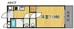 グランエクセルII番館[2階]の間取り