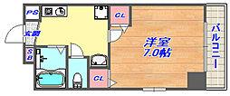 アイビスパーク[6階]の間取り