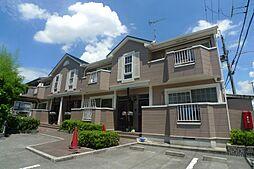 兵庫県高砂市阿弥陀町生石の賃貸アパートの外観
