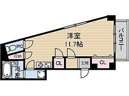伊達BLD[3階]の間取り