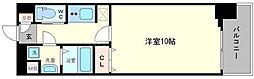 リッツスクエアランドキューブ[2階]の間取り