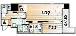 TAKADA. BLD[7階]の間取り