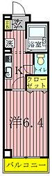 GMウエストハイツ[2-101号室]の間取り